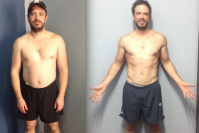 Andy lost 9kgs in 18 weeks