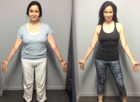 Silvana lost 16kgs over 27 weeks and was the studio winner of the 9 week challenge for Vision Drummoyne